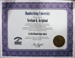 Certified Handwriting Analyst Graphology Courses   Handwriting Classes in Pimple Saudagar – VIVITSA Handwriting Academy   graphology courses   handwriting classes in pimple saudagar