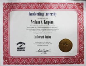 Handwriting University Certificate Graphology Courses   Handwriting Classes in Pimple Saudagar – VIVITSA Handwriting Academy   graphology courses   handwriting classes in pimple saudagar