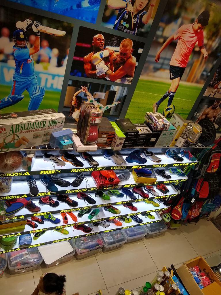 sk-sports-shop-interior-Branded shoes Sports Goods Store / Shop in Pimple Saudagar – SK Sports and Sales | sports goods store / shop in pimple saudagar
