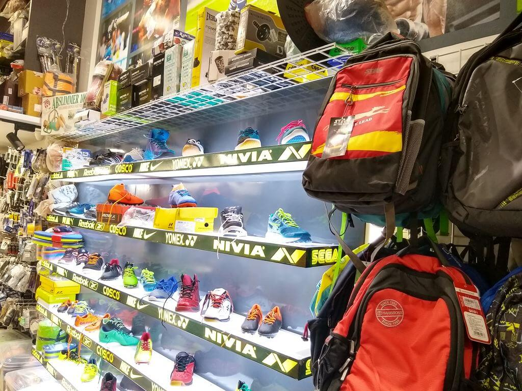 sk-sports-shop-interior-shoes Sports Goods Store / Shop in Pimple Saudagar – SK Sports and Sales | sports goods store / shop in pimple saudagar