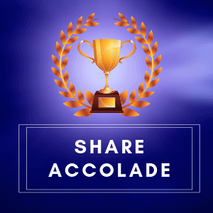 Share Accolade Post your Praise | Accolades | post your praise | accolades