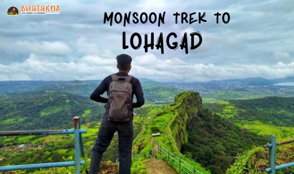 Monsoon Trek to Lohagad - With Bhatakna in pimple saudagar
