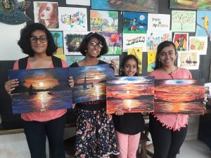 Painting classes grafiti Expressions Drawing, Art, Painting Classes / Institute in Pimple Saudagar- Grafiti Expressions | drawing