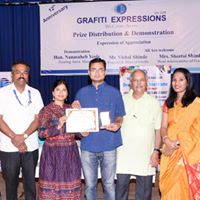 Prize Distribution Grafiti Expressions4 (2) Drawing, Art, Painting Classes / Institute in Pimple Saudagar- Grafiti Expressions | drawing