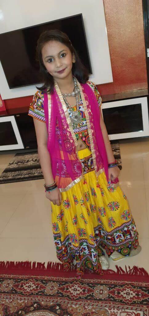 Pragyanshu Akhotia - Kids Garba Costume Photo Contest – 2019 2nd Prize Winner Swarnika Akhotia – Kids Garba Costume Photo Contest – 2019 | swarnika akhotia - kids garba costume photo contest – 2019
