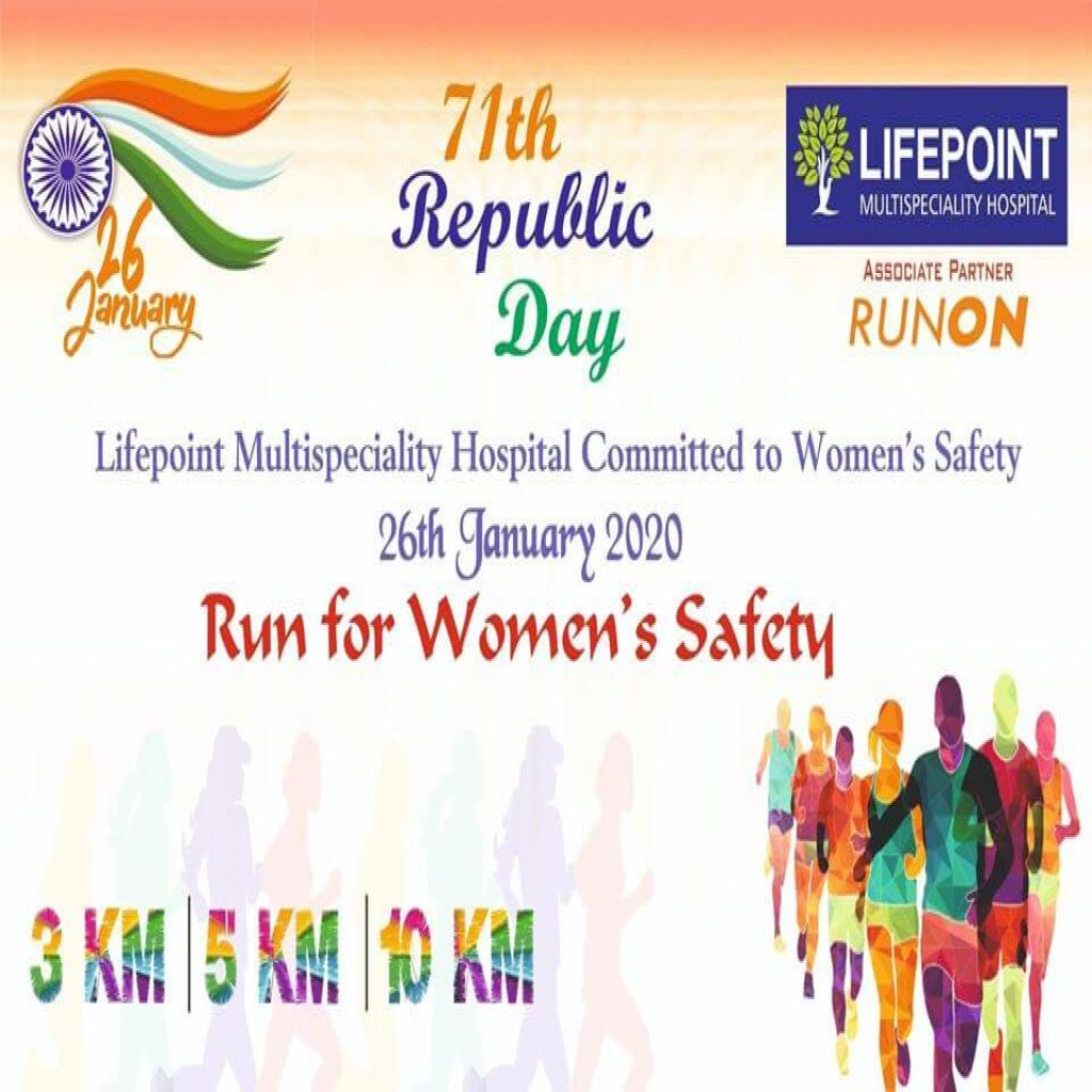 Lifepoint Run For Women's Safety in Wakad