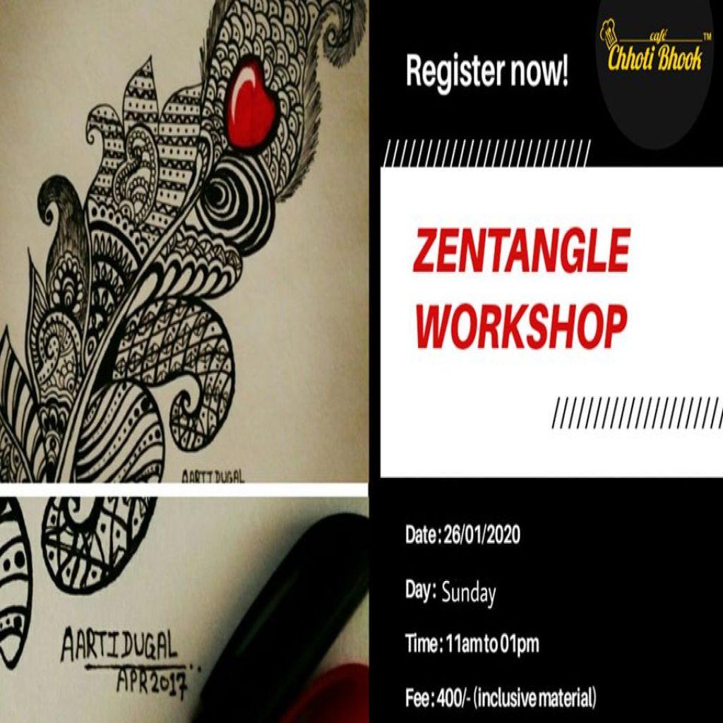 Zentangle Workshop in Pimple Sudagar