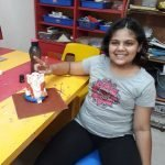 Darshana Mali Eco-friendly ganesha making 8 Eco friendly Ganesha making activity in The Learning Tree pre school Pimple saudagar | eco friendly ganesha making activity in the learning tree pre school pimple saudagar