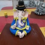 Darshana Mali Eco-friendly ganesha making 9 Eco friendly Ganesha making activity in The Learning Tree pre school Pimple saudagar | eco friendly ganesha making activity in the learning tree pre school pimple saudagar