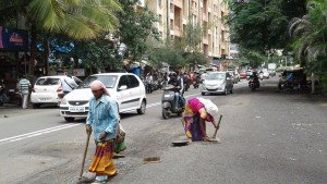 IMG-20160721-WA006 Filling up of Potholes on Kunal Icon Road | filling up of potholes on kunal icon road