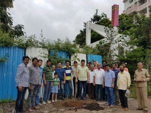 IMG-20160730-WA001 100 Banyan Trees Planted From Kokane Chowk to Swaraj Garden in Pimple Saudagar | 100 banyan trees planted from kokane chowk to swaraj garden in pimple saudagar