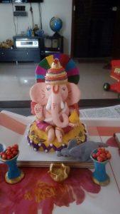 IMG-20160915-WA0002 Snehal Jainwar's Ganesha   Snehal Jainwar's Ganesha