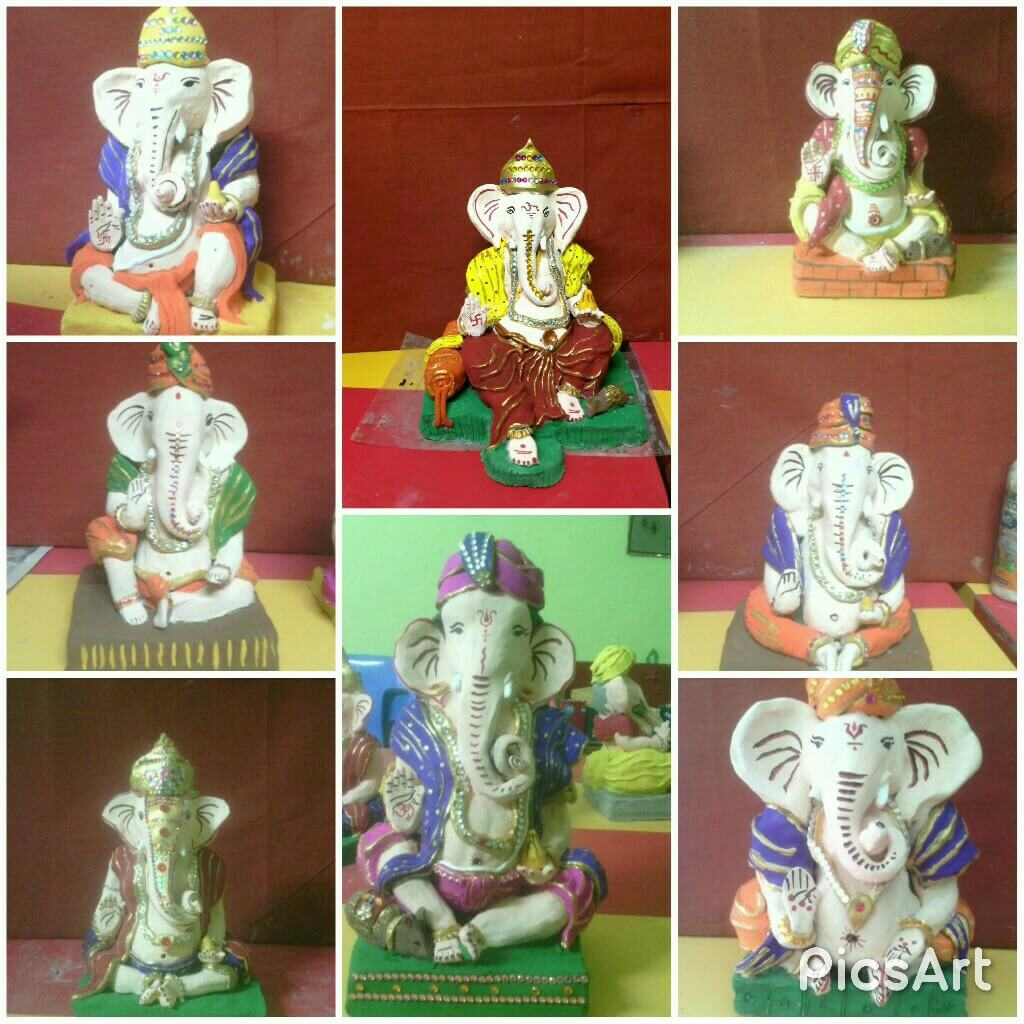 ???Ganesha Idol Making Workshop For Kids Pimple Saudagar