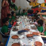 Ganesha idol creation, Learning tree aundh / creative kids Arts and Crafts – Go Creative Academy, Pimple Saudagar | arts and crafts - go creative academy, pimple saudagar
