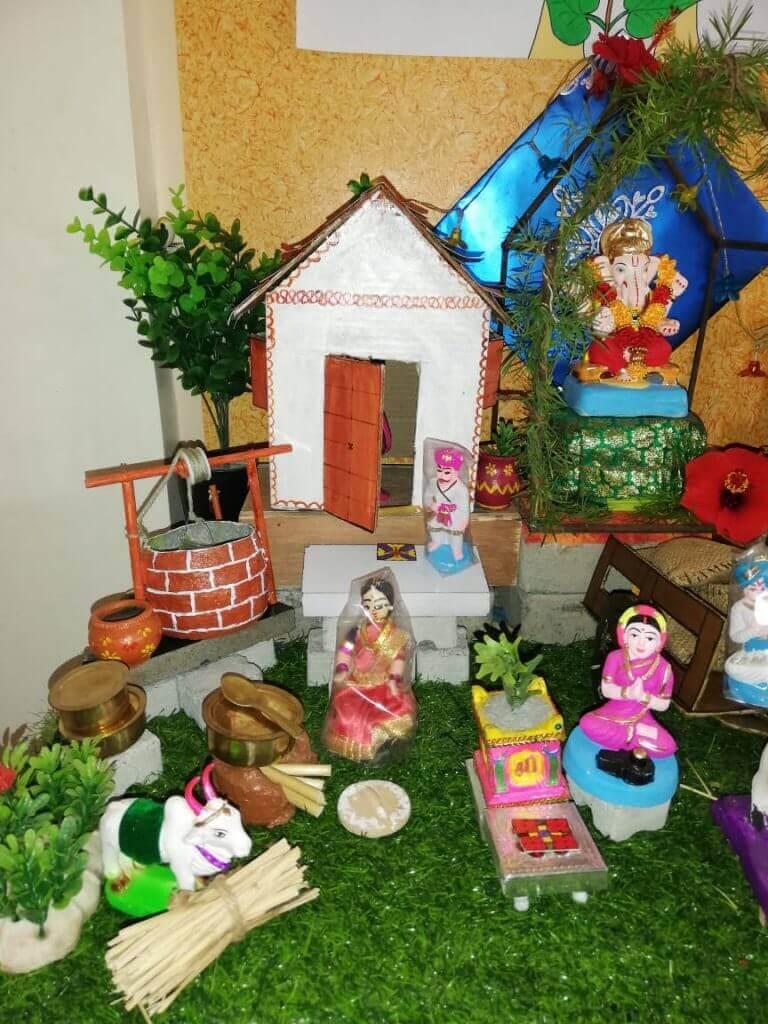 Pooja Rasane  Eco-friendly Home Ganesha 2018 pimple saudagar   pooja rasane  eco-friendly home ganesha 2018 pimple saudagar