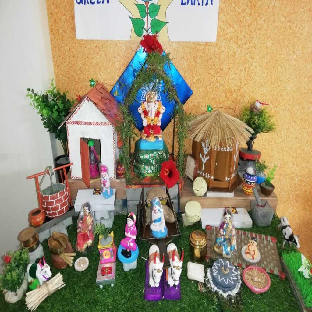 Pooja Rasane  Eco-friendly Home Ganesha 2018 pimple saudagar | pooja rasane  eco-friendly home ganesha 2018 pimple saudagar