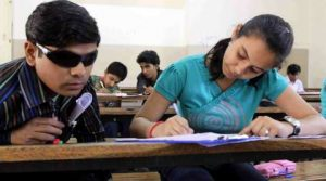 blindstudent Require 45 writers for visually challenged students' exams - blindstudent 300x167 - Require 45 writers for visually challenged students' exams
