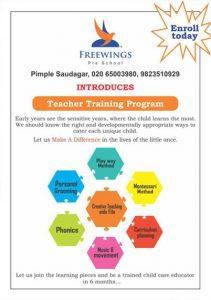 freewings-teachers-training-program Preschool, Daycare in Rahatani, Pimple Saudagar – FreeWings | preschool, daycare in rahatani, pimple saudagar