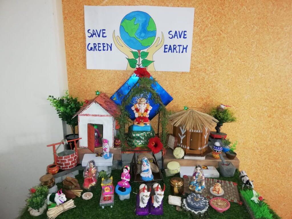 pooja rasane Pooja Rasane  Eco-friendly Home Ganesha 2018 pimple saudagar   pooja rasane  eco-friendly home ganesha 2018 pimple saudagar